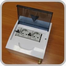 Щиток электрический для кабинета физиотерапии ЩР-250 Оптима-2-ЗК (2 розетки)