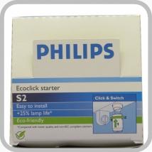 Стартер Philips S2 4-22W SER 220-240V WH EUR (в упаковке по 25 шт)